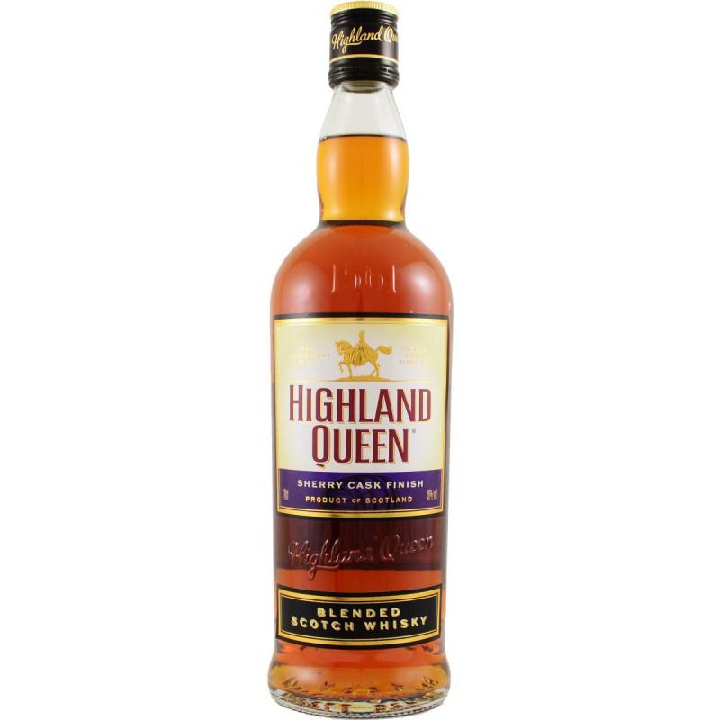 HIGHLAND QUEEN BLENDED WSHISKY 0,7l